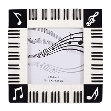 Amazon Piano Keyboard Musical Notes Treble Clef Decorative 4x4