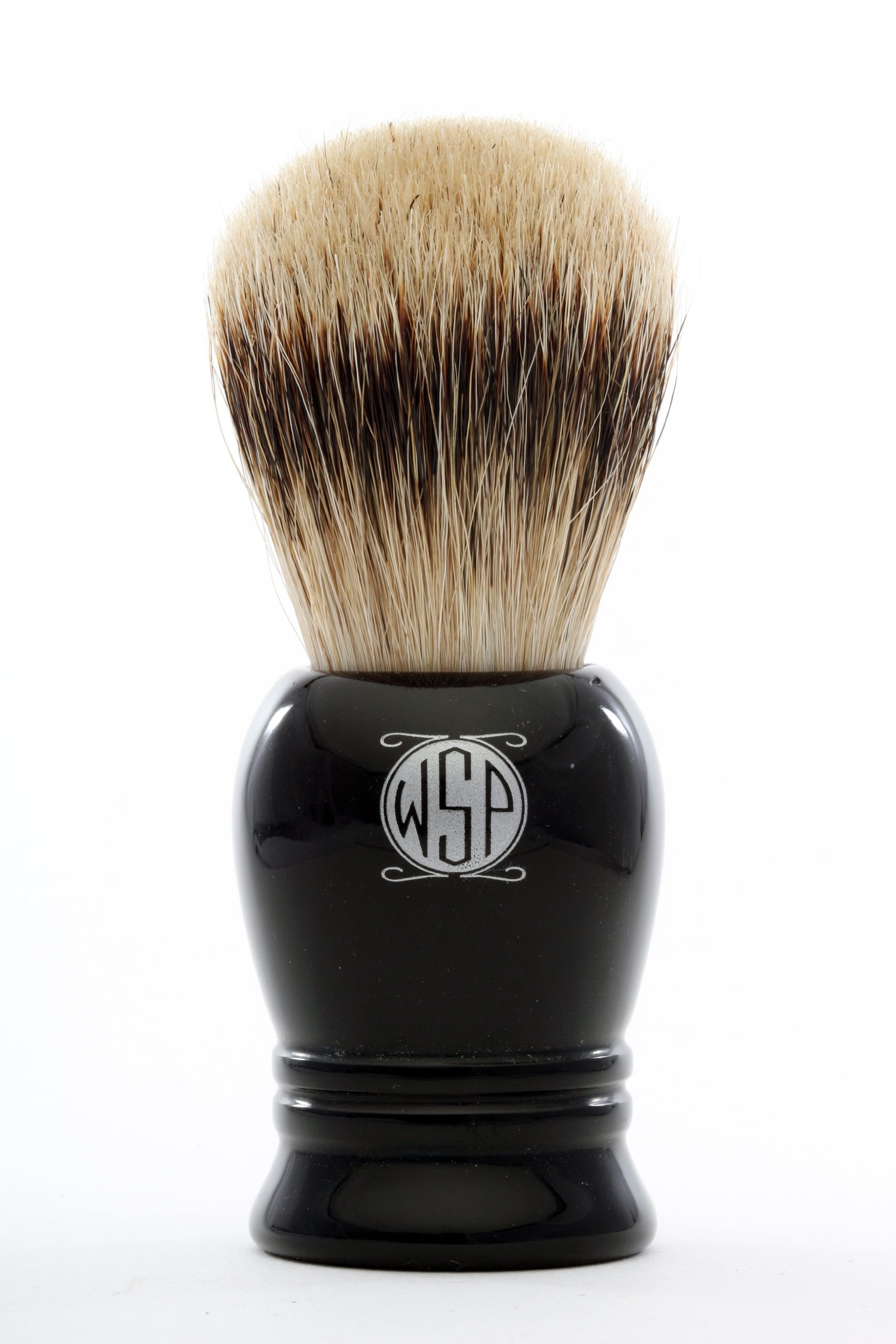 Silvertip Badger Shaving Brush High Density WSP ''Prince'' (Black)