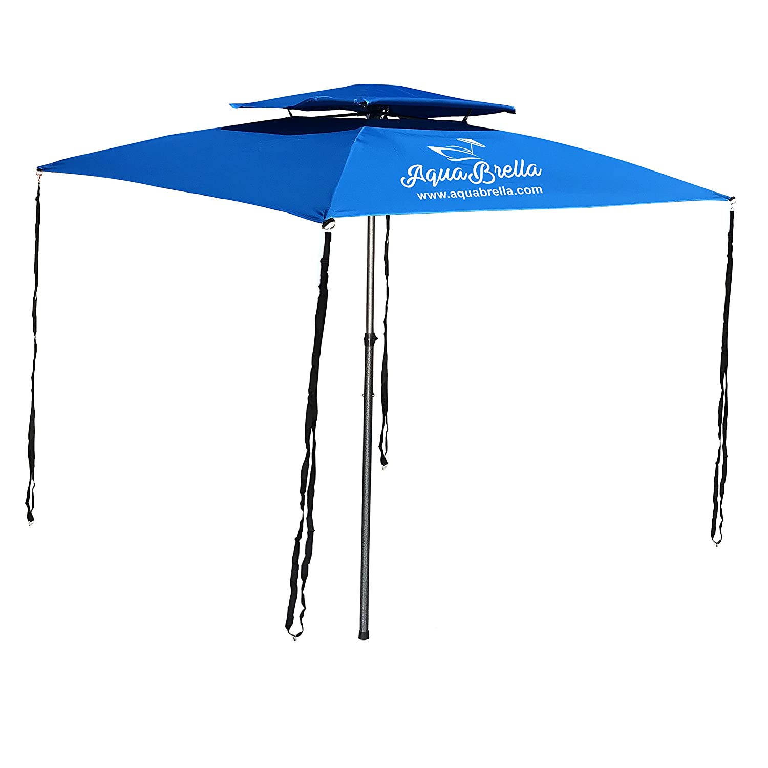 The Portable Bimini Boat Top Cover Canopy Large Size 6 Foot X 6 Foot EasyGoProducts AquaBrella