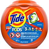 Tide PODS, Laundry Detergent Liquid Pacs, Original, 42 Count - Packaging May Vary