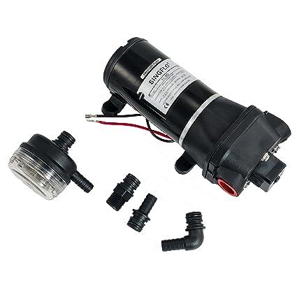 Amazon com : Hex Autoparts High Pressure Water Pump 12V DC