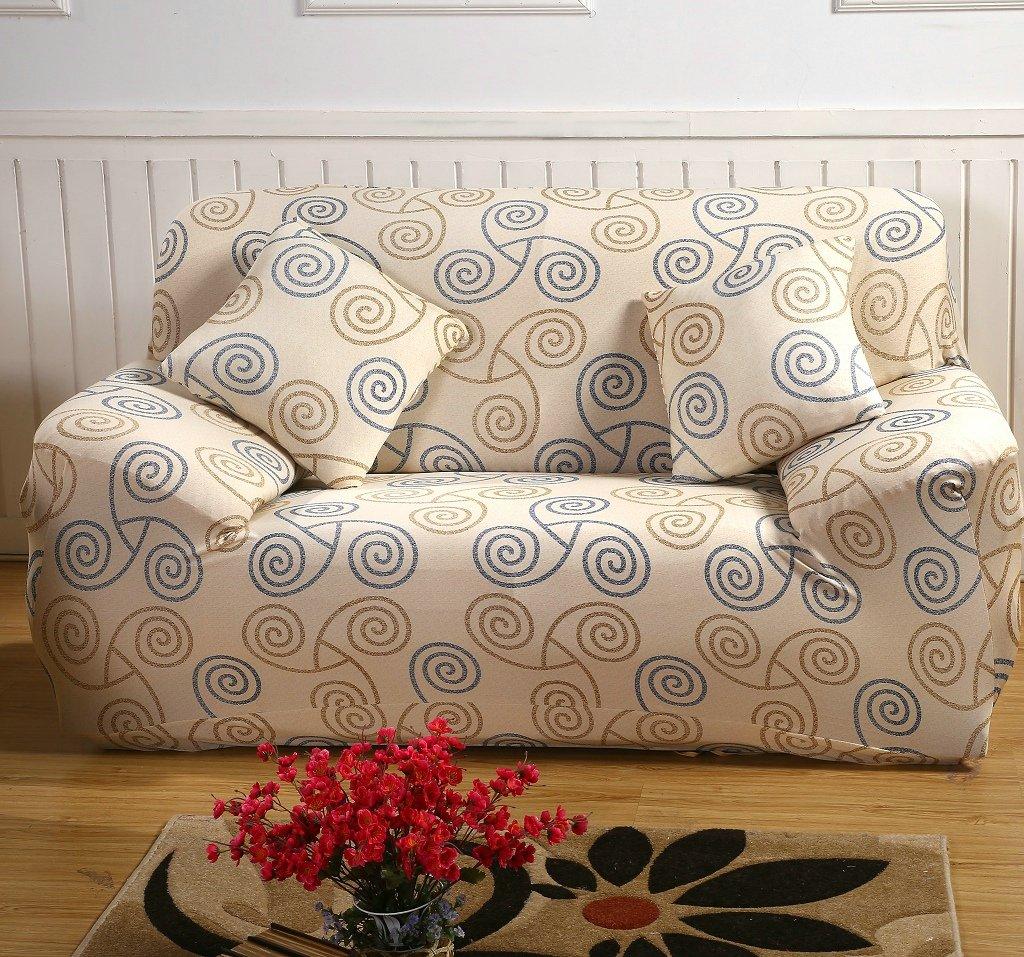 Amazon.com: KateBastB Elastic Anti Wrinkle Couch Covers,Stylish Sofa ...