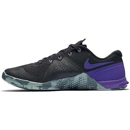 Nike Men's Metcon 2 Training Shoe BLACK/FIERCE PURPLE-HASTA-CANNON 13.0