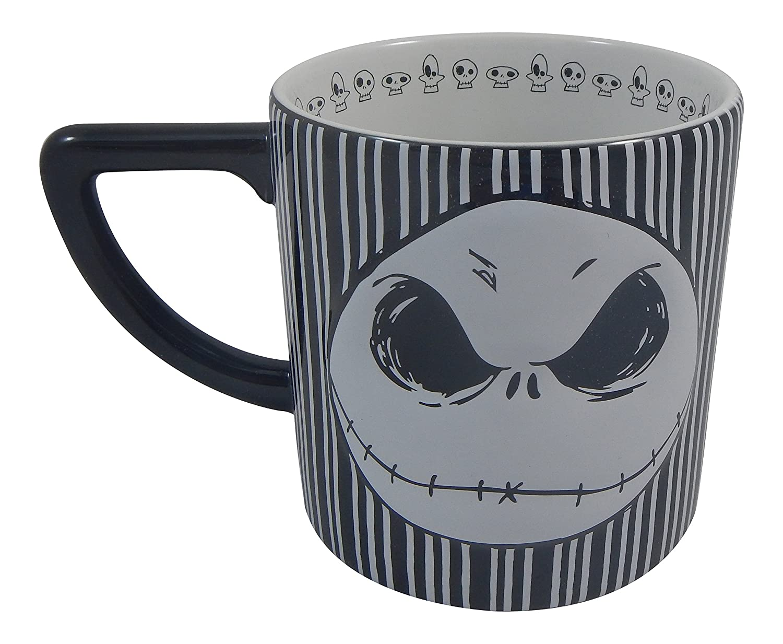 Disney Bow Jack Skellington Mug 20 Oz