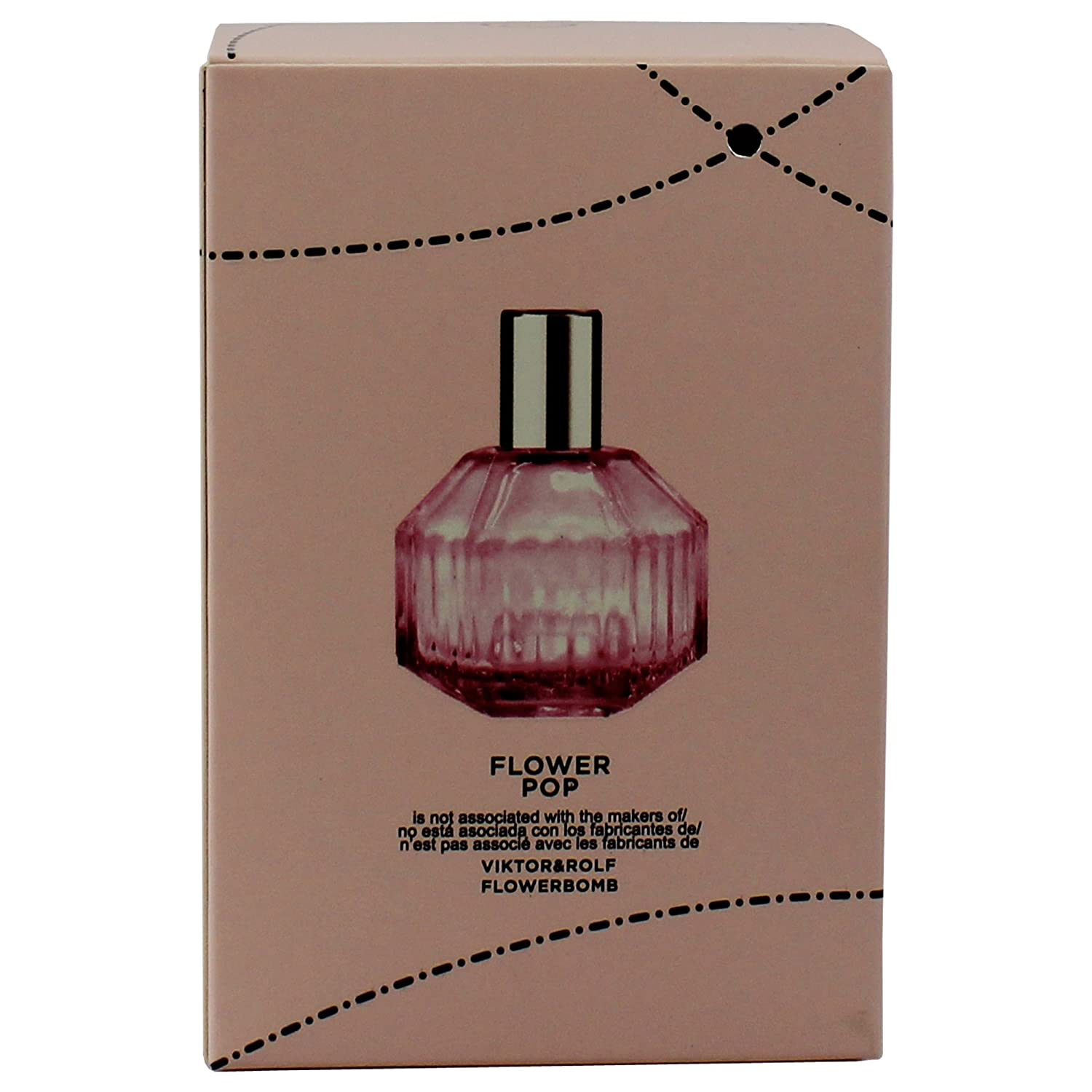Amazon.com : Flower Pop Womens Perfume - 3.3 Fl Oz/100 Ml, Inspired by Flower Bomb by Victor&Rolf : Beauty