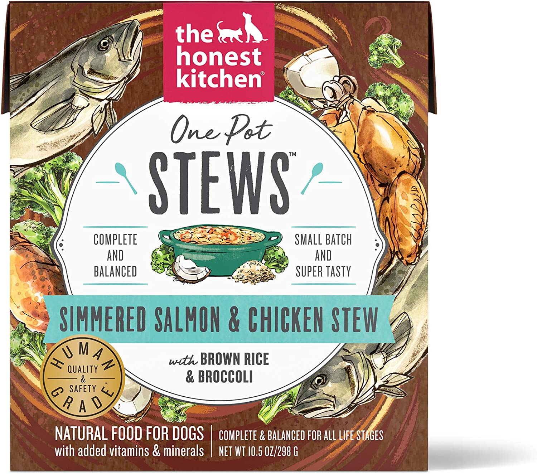 Honest Kitchen Human Grade Wet Dog Food – One Pot Stews, Case of 6