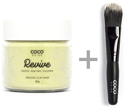 Coco Shine Revive, 100% Natural - Máscara para una limpieza ...