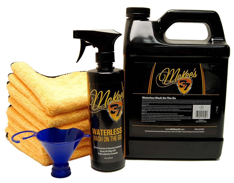 McKee's 37 MK37-350-KIT Waterless Wash Kit 144 fl. oz McKee' s 37