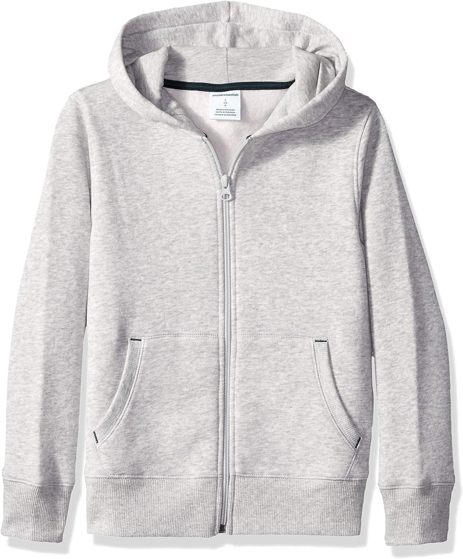 Essentials Boys Fleece Zip-up Hoodie