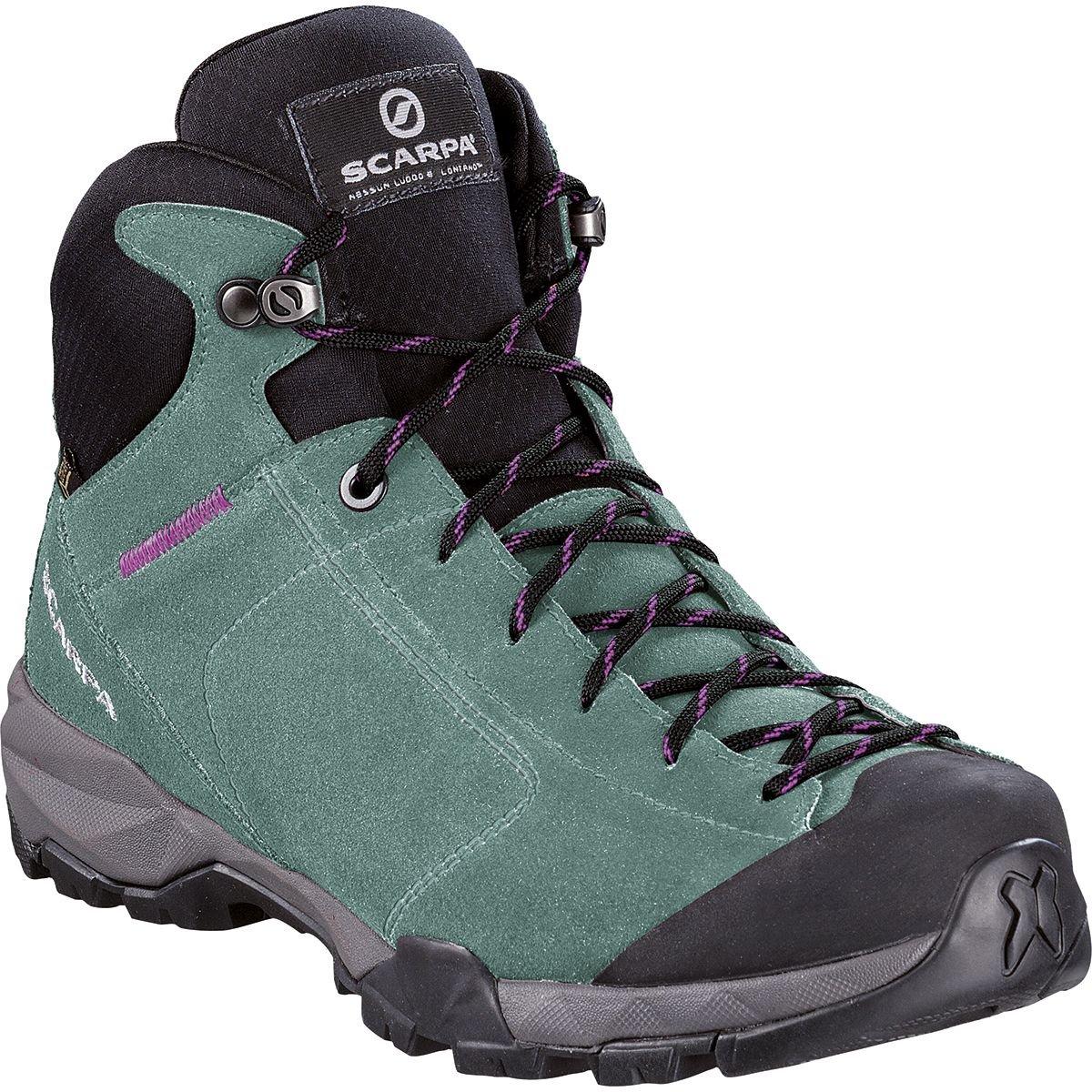Scarpa Schuhe Mojito Hike GTX Damens Größe 38 jade