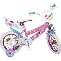"""TOIMSA - Bicicleta 14"""" Modelo Fantasy Walk 4-6"""