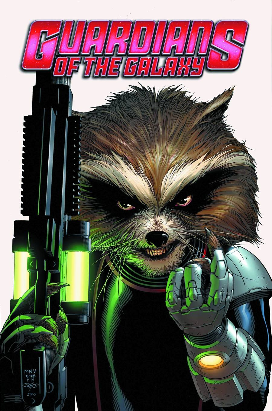 Guardians of the Galaxy #3 (Marvel Now!) Rocket Raccoon Cover pdf