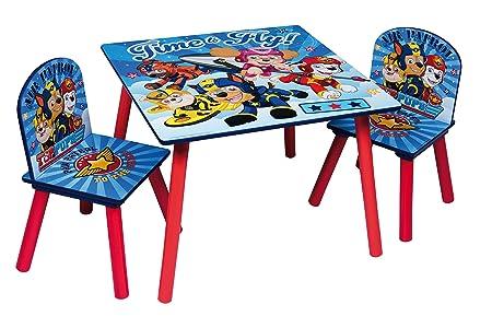 Nickelodeon, Pat Patrouille 44636-s - Juego de Mesa + 2 sillas ...