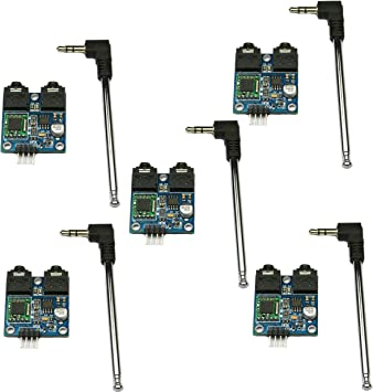 SHAHIDEER TEA5767 FM estéreo módulo de radio con Free Cable Antena ...