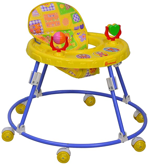 Mothertouch Round Walker (Yellow)