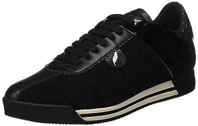 Geox Shahira B, Sneakers Basses Femme, Noir (Black), 35 EU