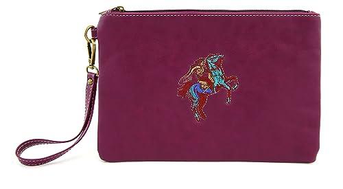 f20b18a93377 Amazon.com: Wristlets Angelina's Palace Small Wallet PU Leather ...