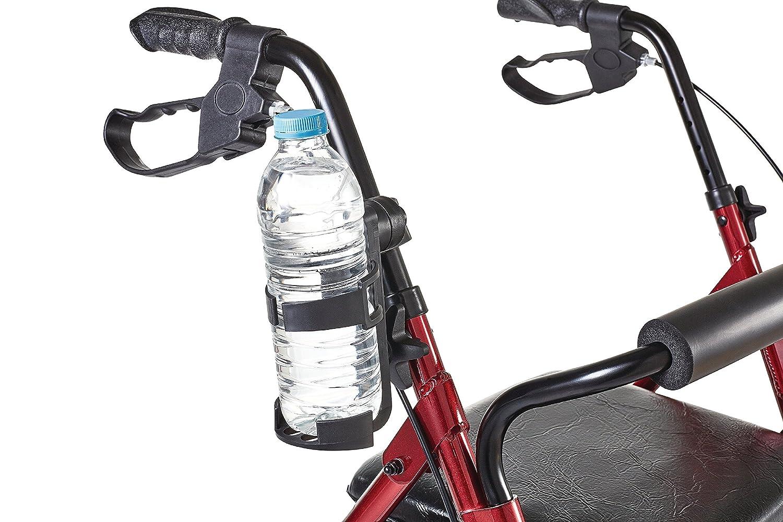 Flaschenhalterung Getränke Halter Becher für Kinderwagen Buggy Fahrrad Gehhilfe