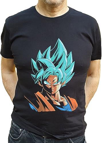 LAST LEVEL Camiseta Dragon Goku Dios L Camisa Cami ...