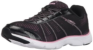 AVIA Women's Avi-Rove Walking Shoe, Black/Prism Pink, ...