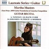 Laureate Series: Martha Masters Guitar Recital
