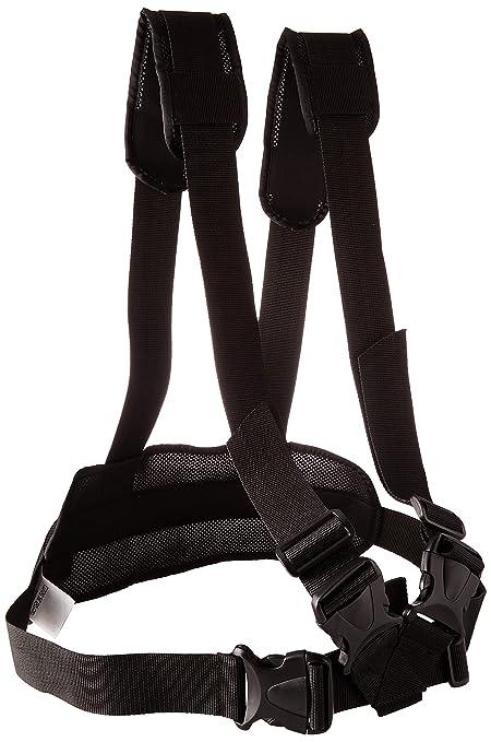 ubio 305552 cinturón abdominal acolchada para silla de ruedas con tirantes