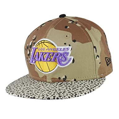 eee575e1c56 New Era Los Angeles Lakers Camo Hook SDC NBA 59fifty Fitted Cap ...
