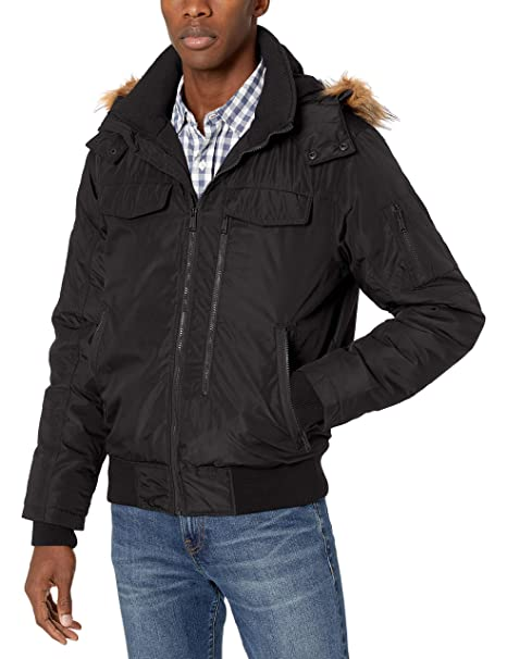 Amazon.com: Ben Sherman Parka - Chaqueta para hombre: Clothing