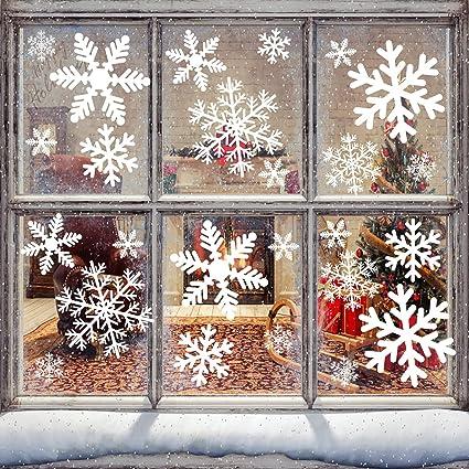 Natale Addobbi.Vetrofanie Natale Vetrofanie Natalizie 87pcs Natale Decorazioni 6 Fogli Addobbi Natalizi Per La Casa Rimovibile Addobbi Natale Adesivi Natalizi Statico Vetrofanie Natale Per Natale Decorazioni Casa Amazon It Fai Da Te