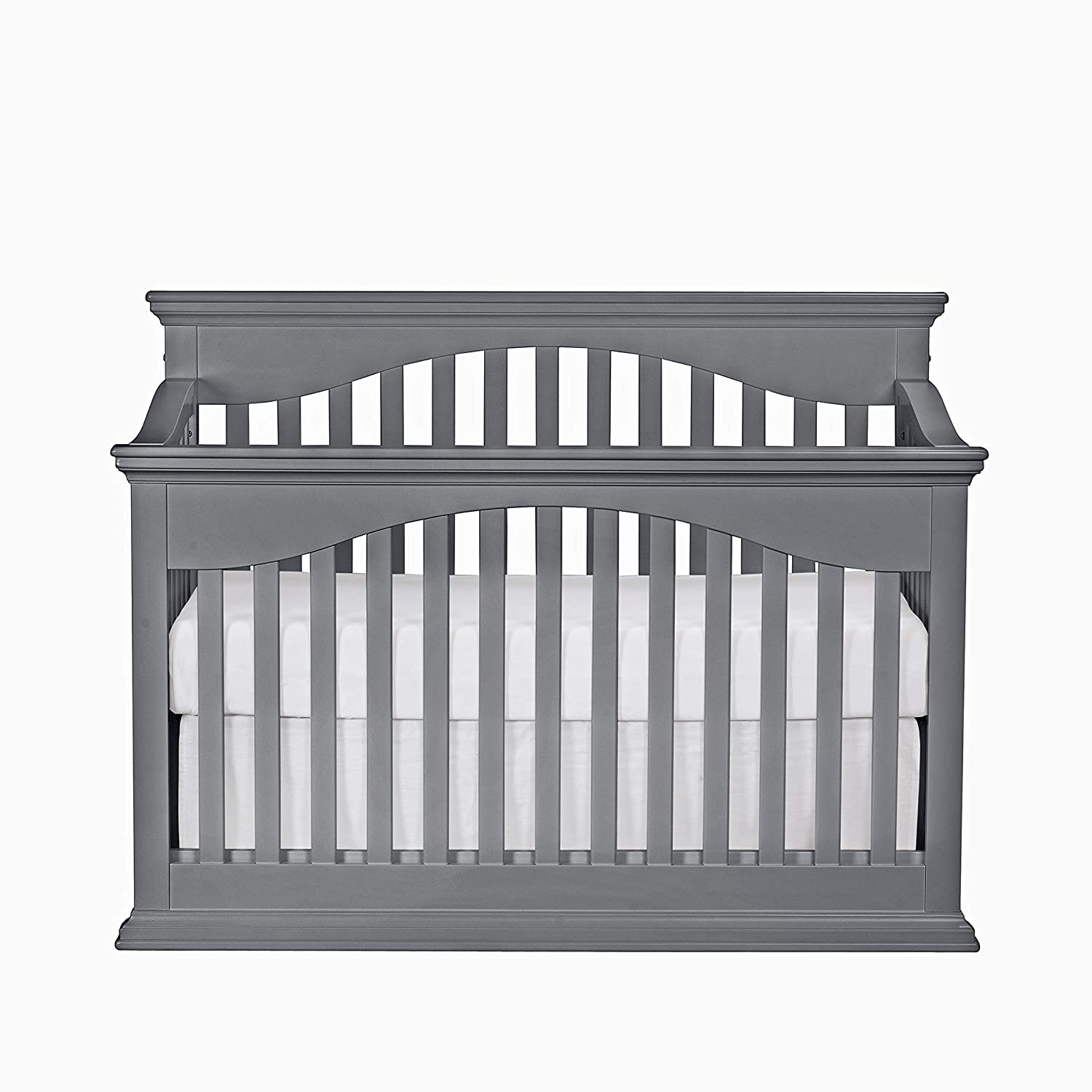 Suite Bebe Bailey 4 in 1 Convertible Crib Grey