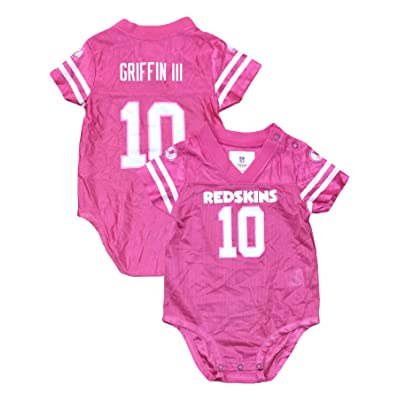 766854dd3516 OuterStuff Robert Griffin III Washington Redskins  10 Pink Dazzle ...