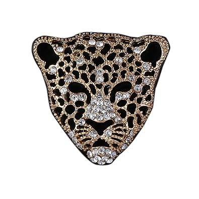 Amazon.com: Broche con diseño de leopardo para hombre, ideal ...
