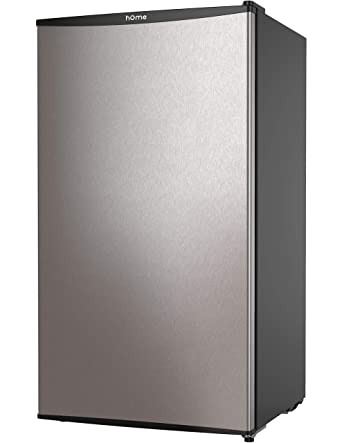 hOmeLabs Mini Fridge - 3.3 Cubic Feet Under Counter Refrigerator with  Covered Chiller Compartment - Small Drink Food Storage Machine for Office,  Dorm ...
