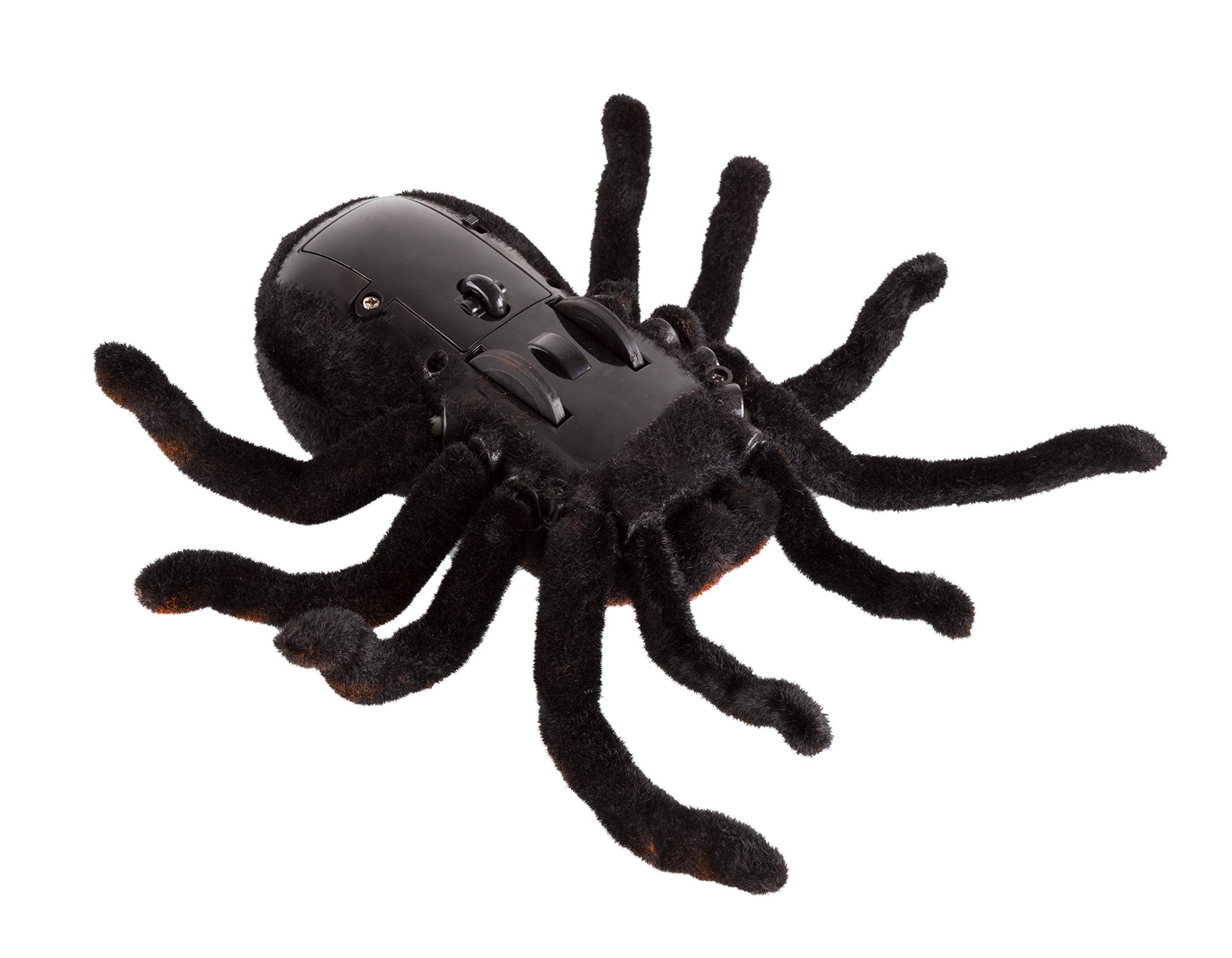 Advanced Play Remote Control Spider Toy Realistic 8 Inch Tarantula Animal Figures Funny Prank Joke Scare Gag Gifts for Halloween Christmas Party decor Birthdays Holidays April Fool Pranks by Advanced Play (Image #4)