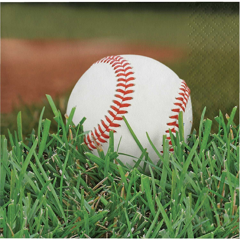 Sports Fanatic Baseball Bundle Lunch Napkins (54)