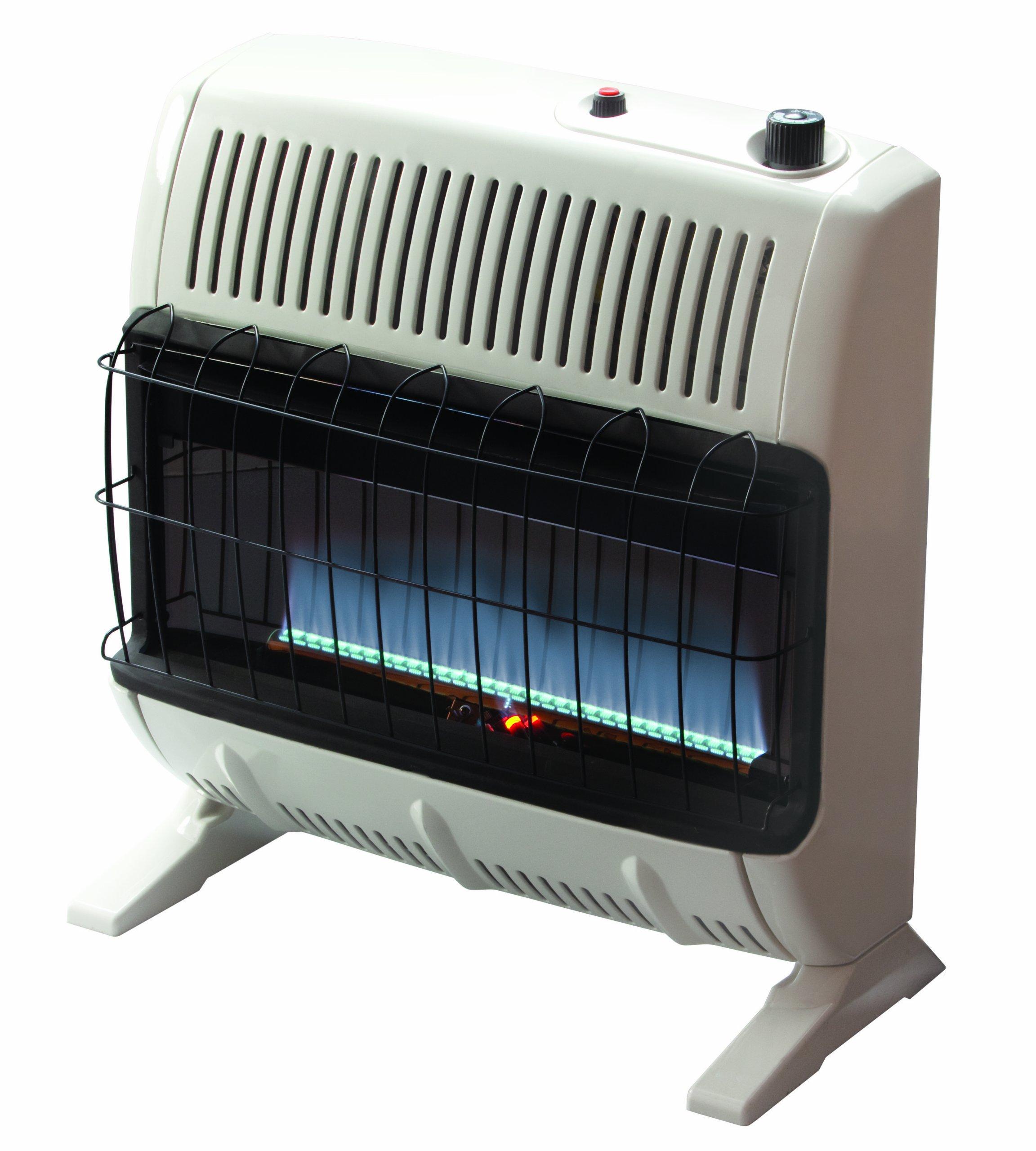 Mr. Heater 30,000 BTU Propane Blue Flame Vent-Free Heater, VF30KBLUELP by Mr. Heater