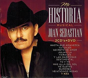 Joan Sebastian (Mi Historia Musical 2Cds+Dvd 710621)