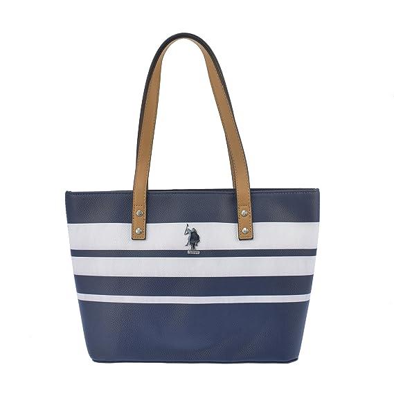 676ef9b3c8 U.S.POLO ASSN. Handbag with wide handles 27-35x11x23 cm  Amazon.co ...