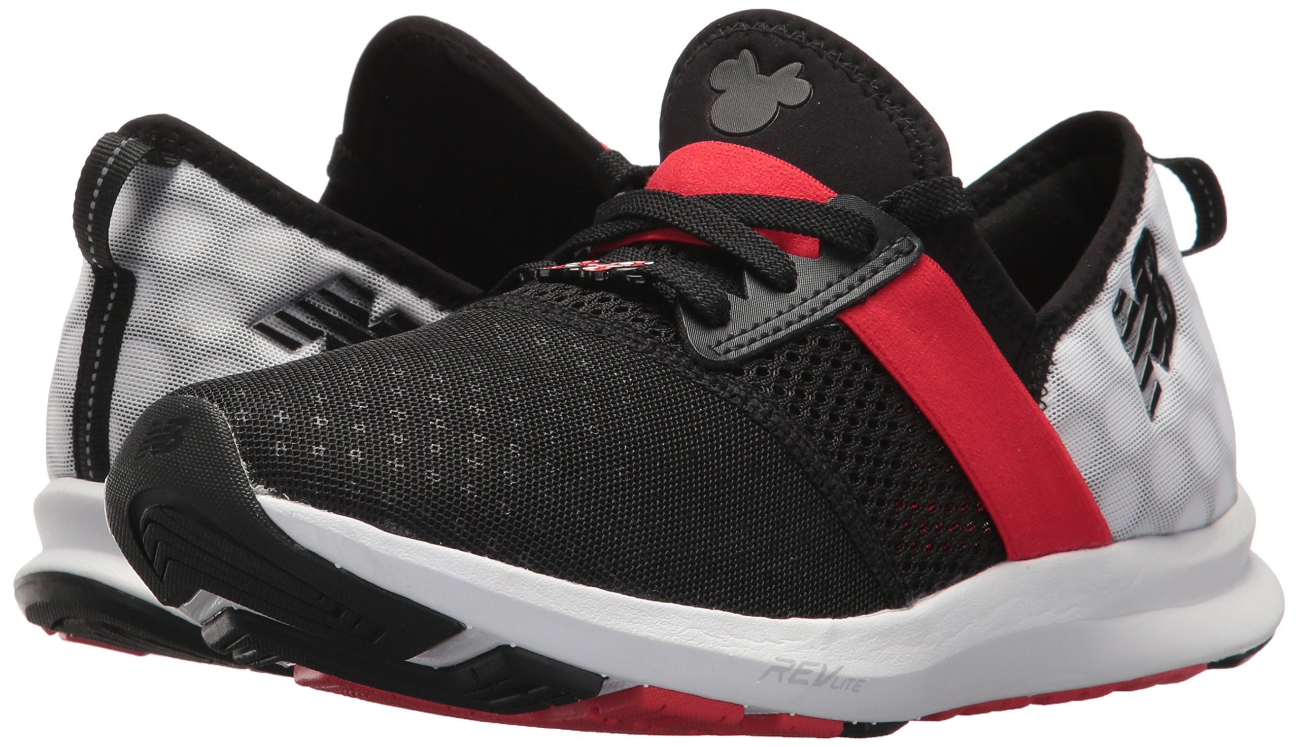 New Balance Women's Nergize V1 Fuelcore Disney Cross Trainer, Black/Red, 85 B US by New Balance (Image #6)