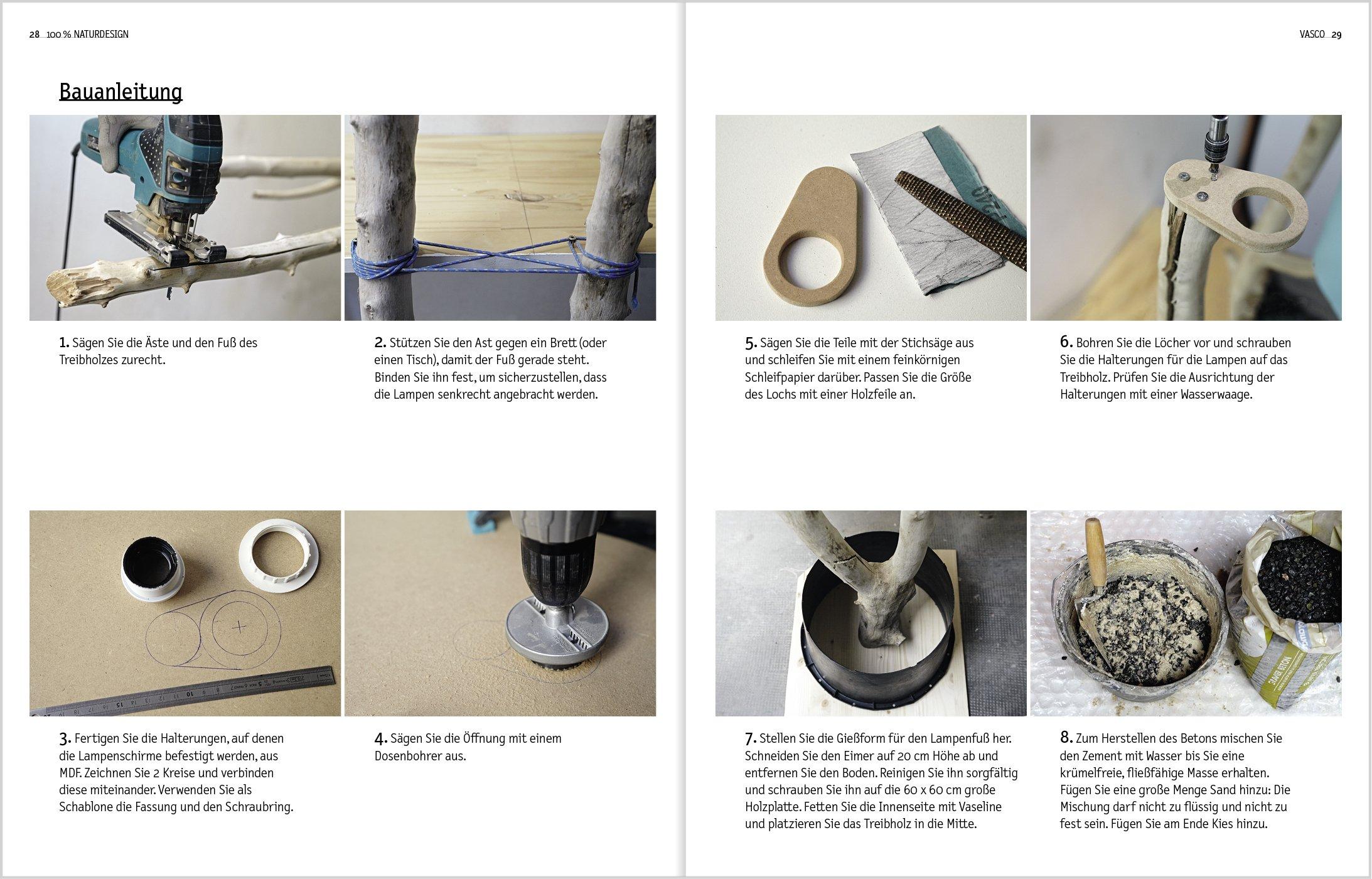 möbel bauen aus holz und naturmaterialien: 20 schritt-für-schritt ... - Aus Naturmaterialien Bauen