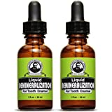 Uncle Harry's Natural & Fluoride-free Remineralization Liquid For Tooth Enamel - Freshens Breath & Strengthens Teeth (2 pack,