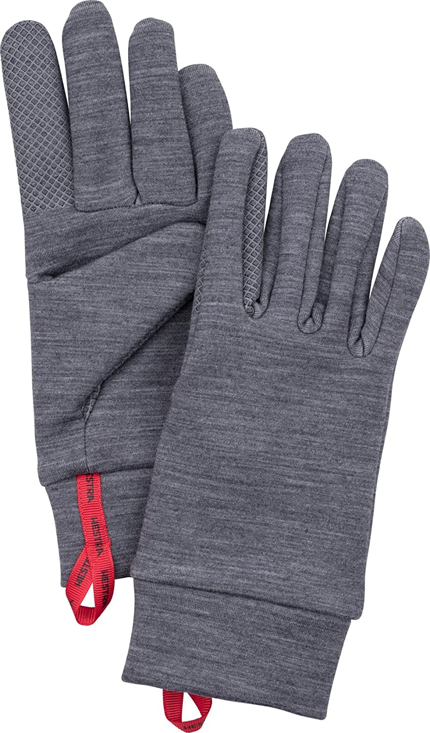 HESTRA Touchscreen Gloves Run Hike and Ski Touch Point Warm Wool Liner-base Layer