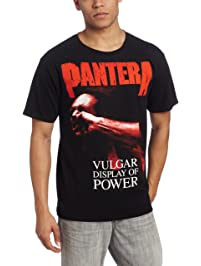 Bravado Men's Pantera Red Vulgar T-Shirt