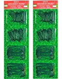 600 Count Holiday Ornament Hooks; Green