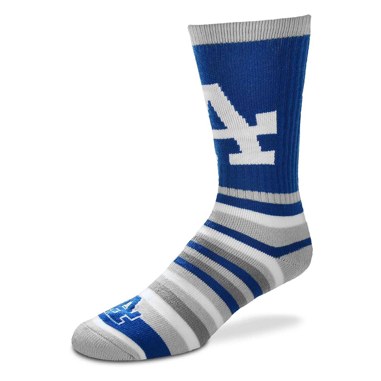 For Bare Feet lotta-stripeユースサイズ13、1 – 5子供用ソックス( 4 – 8歳用) – Los Angeles Dodgers   B0776552XZ