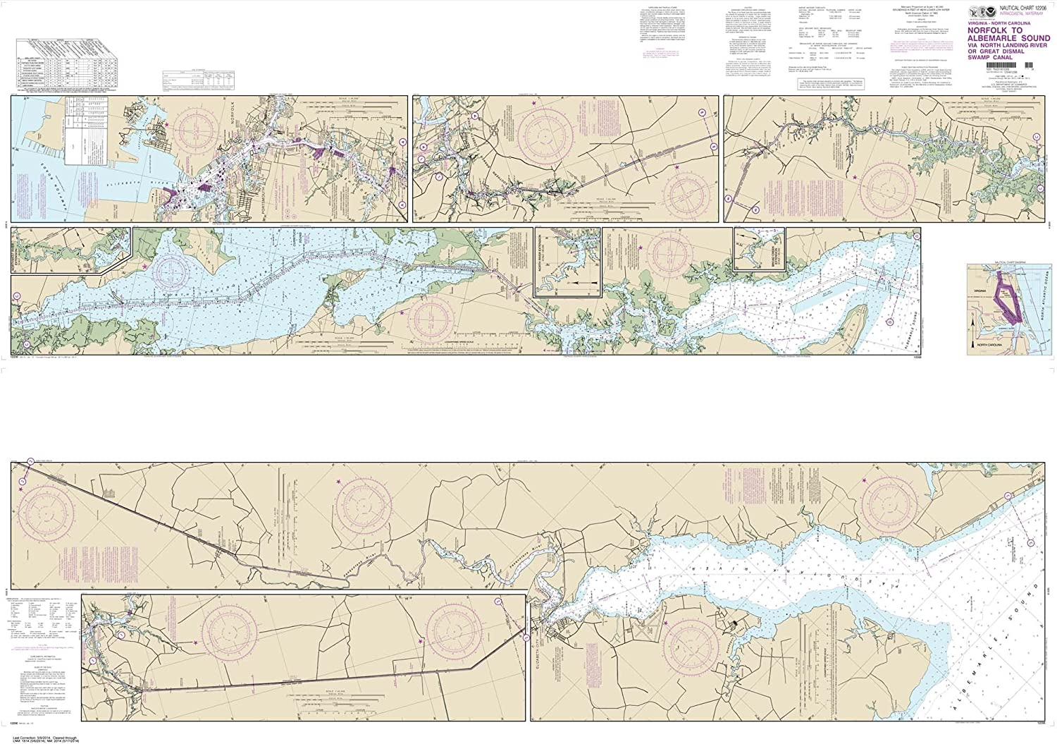 Paradise Cay Publications NOAA Chart 12368 North Shore of Long Island Sound Sherwood Point to Stamford Harbor 35.6 x 44.5 Traditional Paper
