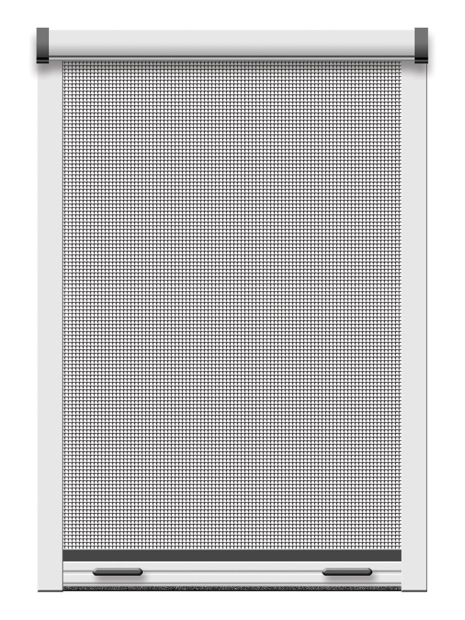 Schellenberg 50821 Insektenschutz-Klemmrollo Fenster 80 x 160 cm braun