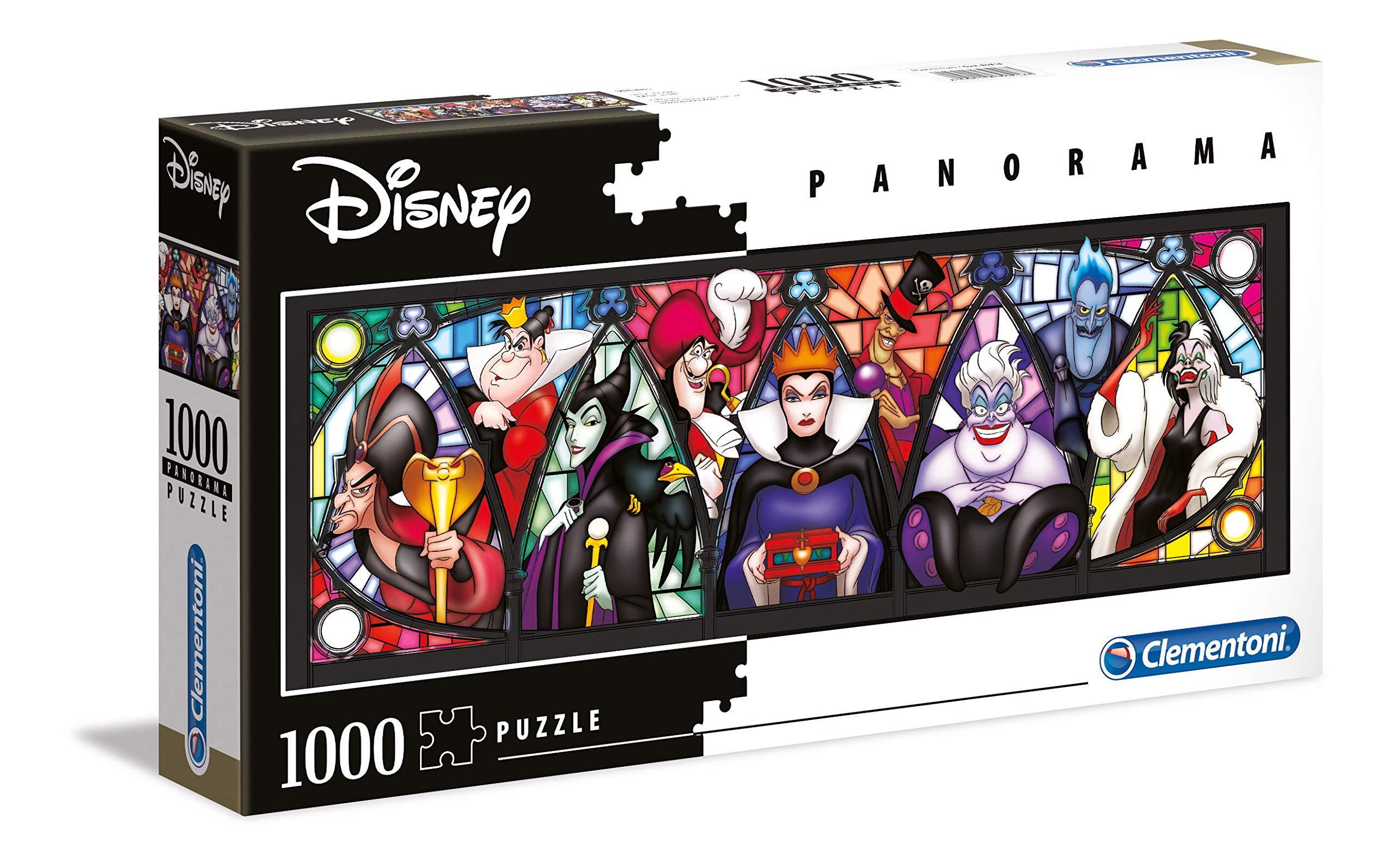 Clementoni 39516 Panorama 1000pc Puzzle-Villains