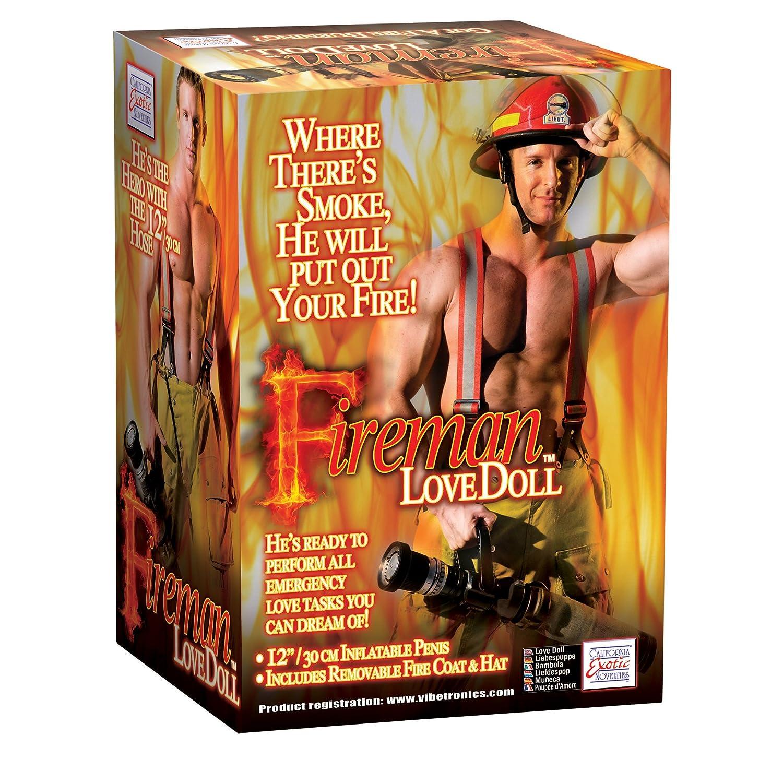 Fireman Love Doll - hinchable Amor Muñeca con 30 cm Pene - Incluye ...