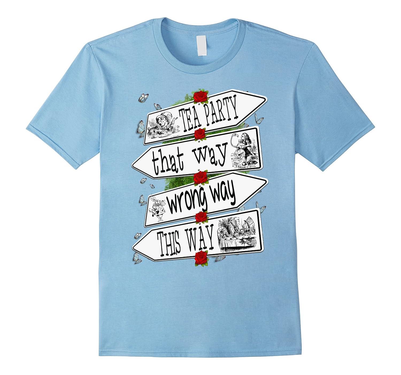 Alice in Wonderland-Men Women Kids T Shirt-SFS